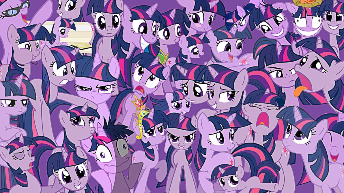 FANMADE_Twilight_Sparkle_everywhere.jpg